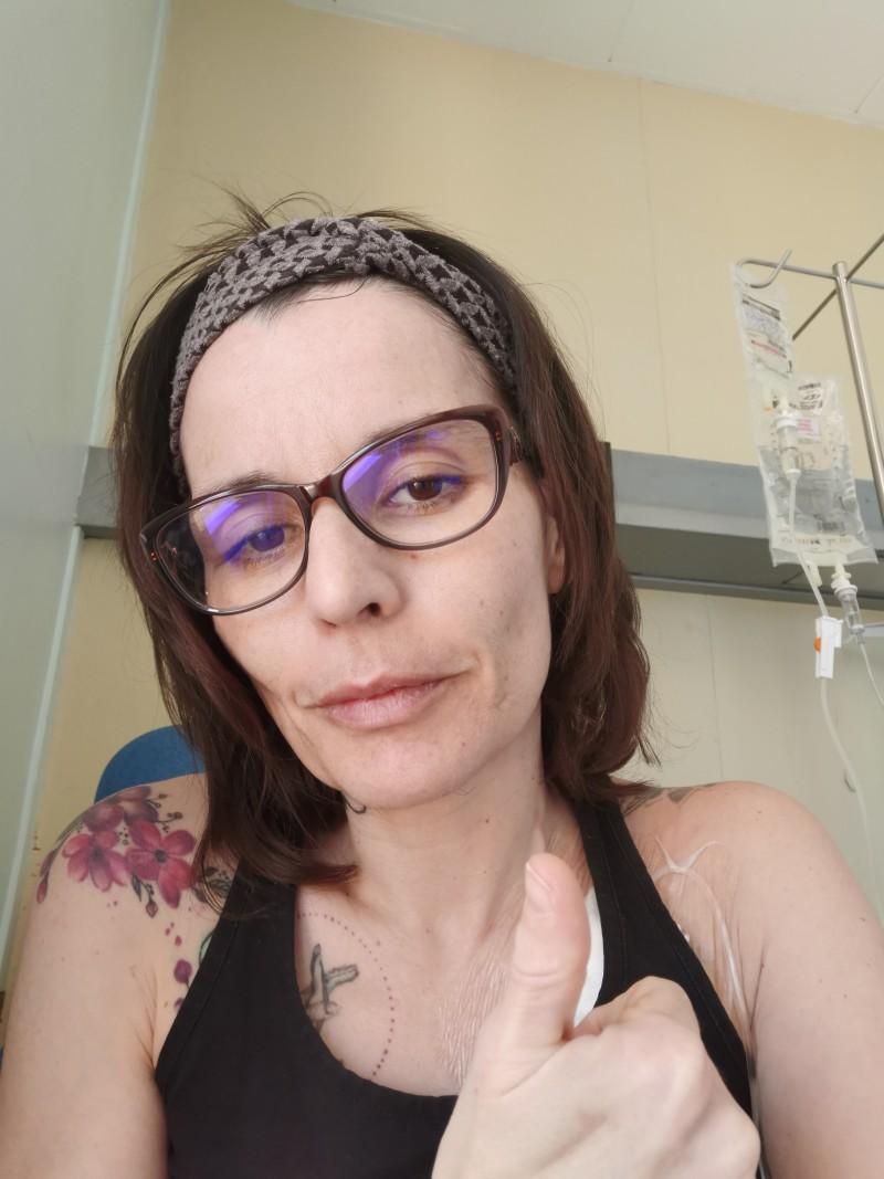Patiente Sclérose en Plaques